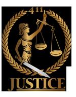 411 Justice Logo